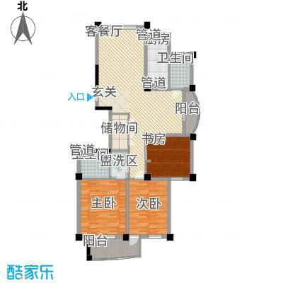 冠达豪景苑冠达豪景苑户型图D43室2厅2卫1厨户型3室2厅2卫1厨