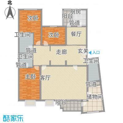 滨河小区226.26㎡滨河小区户型图3室3厅2卫户型10室