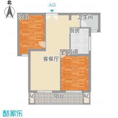 阳光嘉园100.00㎡阳光嘉园户型图C-22室2厅1卫户型2室2厅1卫