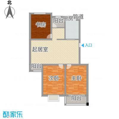 华夏星辰125.10㎡华夏星辰户型图HB3室2厅2卫1厨户型3室2厅2卫1厨