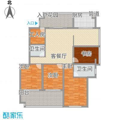 江畔芳庭240.00㎡江畔芳庭6室户型6室