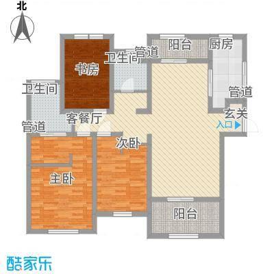 新光小区100.00㎡新光小区户型图3室户型图3室1厅1卫1厨户型3室1厅1卫1厨