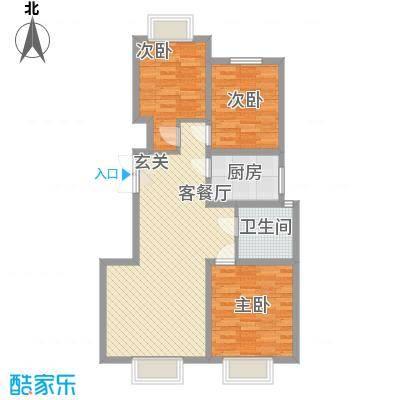 新光小区100.00㎡新光小区户型图3室户型图3室2厅1卫1厨户型3室2厅1卫1厨