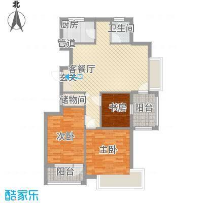 新光小区98.00㎡新光小区户型图3室户型图3室1厅1卫1厨户型3室1厅1卫1厨