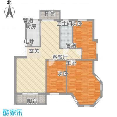 长海梦花园长海梦花园户型图321118.533室2厅1卫1厨户型3室2厅1卫1厨