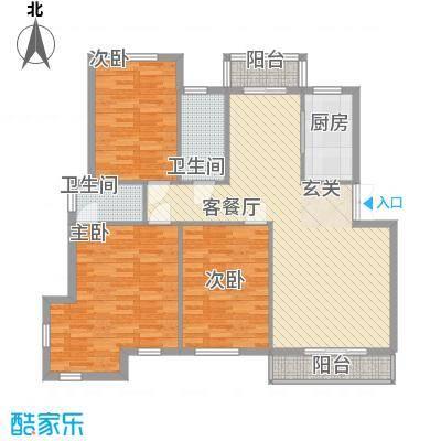长海梦花园长海梦花园户型图321126.873室2厅2卫1厨户型3室2厅2卫1厨