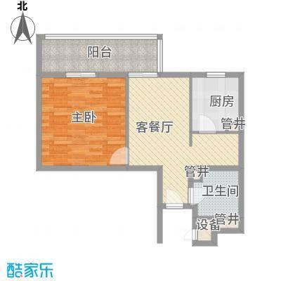 芳桂园39.00㎡芳桂园1室户型1室
