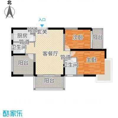 大唐世纪豪庭118.00㎡大唐世纪豪庭户型图F户型3室2厅2卫1厨户型3室2厅2卫1厨