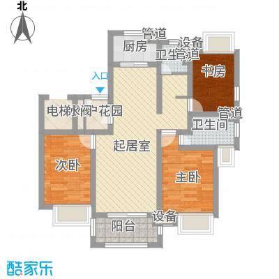 盛世豪庭88.00㎡盛世豪庭2室户型2室