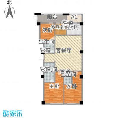 绿城�园181.00㎡绿城�园户型图�悦A8户型4室2厅1卫3厨户型4室2厅1卫3厨