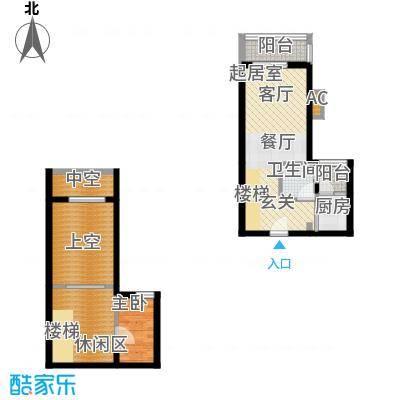 汇景上层汇景上层1室户型1室