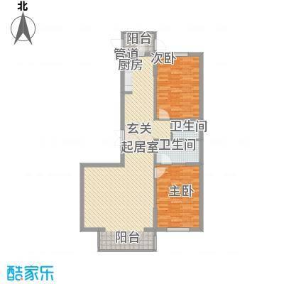 欣欣小屋14户型2室1厅1卫1厨