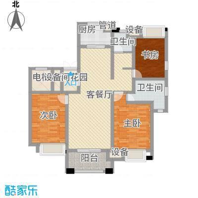 富民花园86.00㎡南栅富民花园2室户型2室