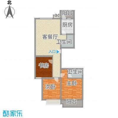 银海水韵B型四室两厅两卫160平米