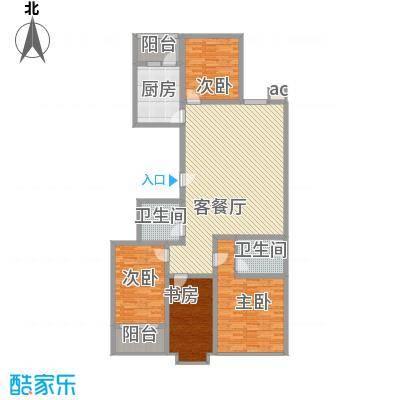 银海水韵A型四室两厅两卫190平米