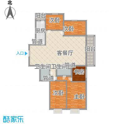 东骏豪苑二期 4室 户型图