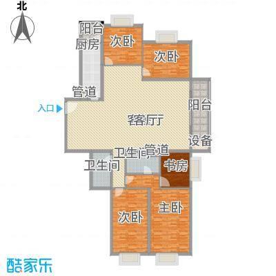 东泰花园明华苑105.00㎡东泰花园明华苑3室户型3室
