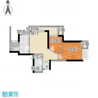 白龙庙小区74.00㎡白龙庙小区2室户型2室