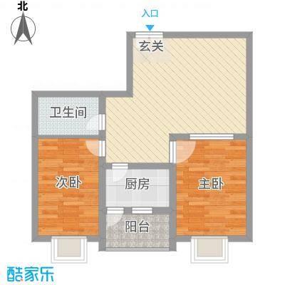 西区新干线76.71㎡西区新干线户型图2室2厅1卫1厨户型10室