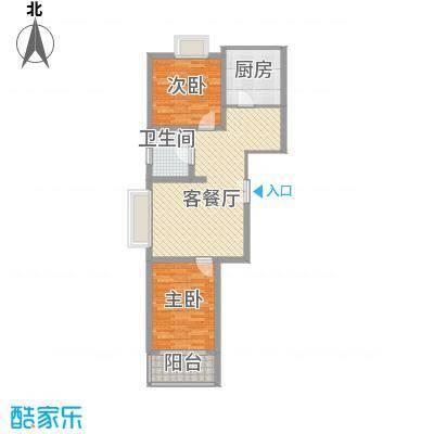 西区新干线89.22㎡西区新干线户型图2室2厅1卫1厨户型10室