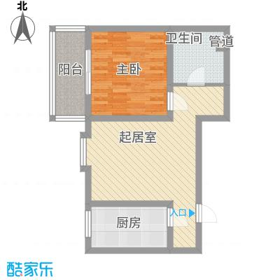 观庭E户型2室