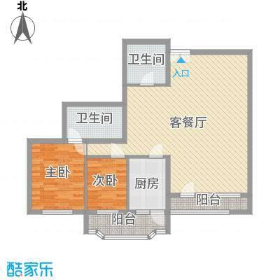 龙凤大厦122.79㎡龙凤大厦户型图2室2厅1卫1厨户型10室