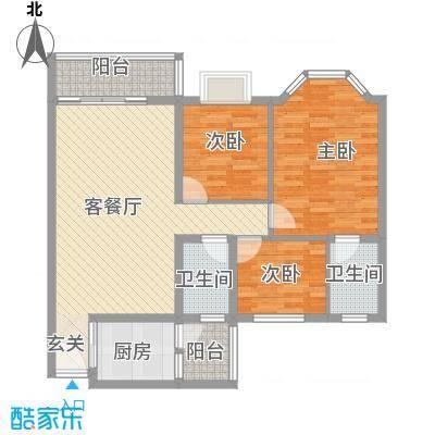 鸿海豪庭113.00㎡鸿海豪庭户型10室