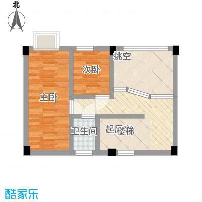 叠美居92.00㎡叠美居户型图A区701复式户型10室