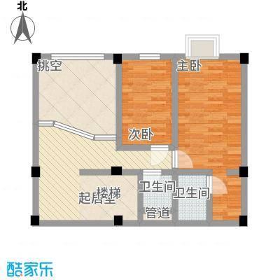 叠美居124.00㎡叠美居户型图B区706复式户型10室