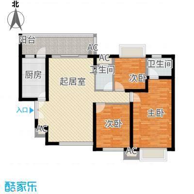 翰林雅苑61.98㎡翰林雅苑户型10室