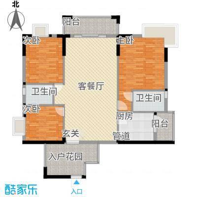廊桥名轩137.00㎡廊桥名轩户型图户型23室2厅2卫1厨户型3室2厅2卫1厨