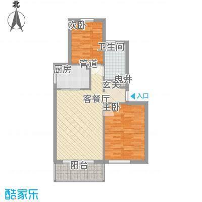 长海梦花园长海梦花园户型图22179.612室1厅1卫1厨户型2室1厅1卫1厨
