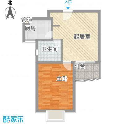 淡水路214弄小区户型图淡水路214弄 1室 户型图 1室1卫1厨