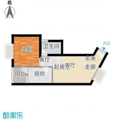 翡翠园47.46㎡翡翠园户型10室