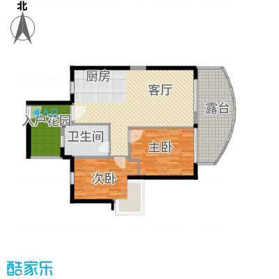 中信・香水湾98.30㎡海寓B3户型2室2厅1卫