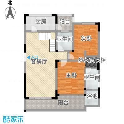 万联・晋海192.34㎡C3户型3室2厅3卫