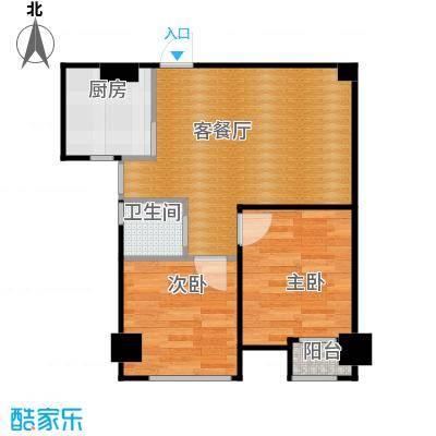 圣联香御公馆62.00㎡6好楼公寓户型10室