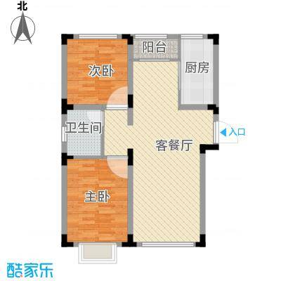 长白山明珠77.19㎡户型10室