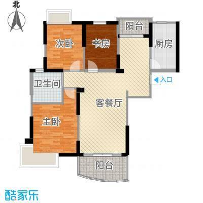 碧桂园如山湖城94.92㎡C100―户型10室