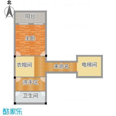 那香山95.39㎡呀诺达・别墅D3层图户型1室1厅1卫