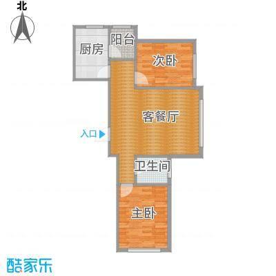 中国铁建国际花园67.91㎡户型10室