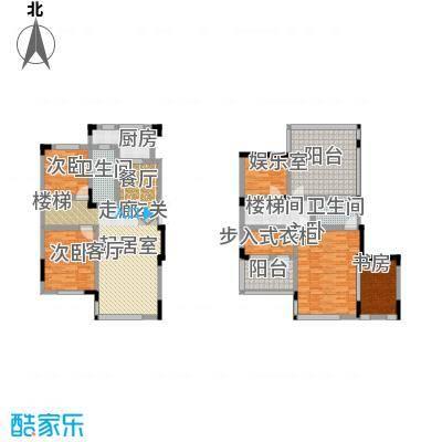 中国铁建国际花园90.00㎡二期HA+户型4室2厅2卫