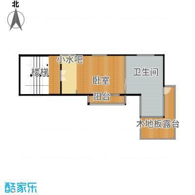 那香山89.10㎡C12层户型10室