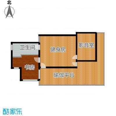 那香山143.00㎡C2负1层户型10室