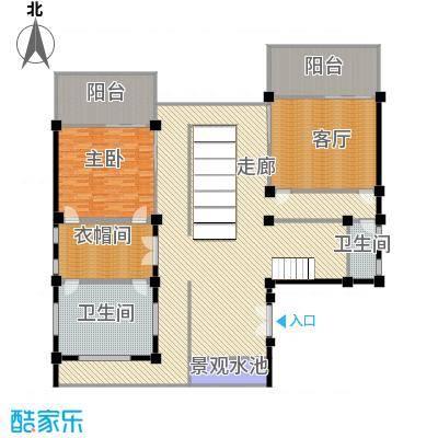 那香山254.66㎡D11层户型10室