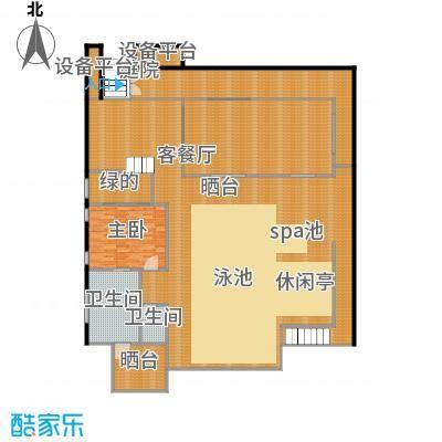 那香山316.47㎡C21层户型10室