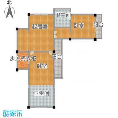 那香山230.99㎡F2层户型10室