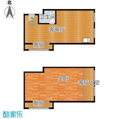 盈嘉上锋国际52.92㎡乐高积木户型1室1厅1卫