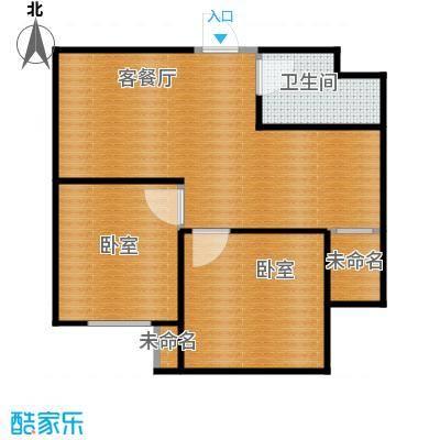 北海丽景65.84㎡G户型2室1厅1卫