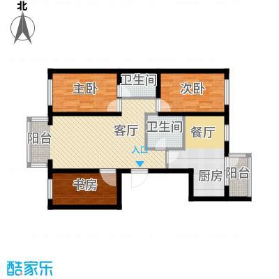 东皇先锋86.49㎡G户型3室1厅2卫1厨
